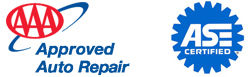 AAA Approved Auto Repair - ASE Certified